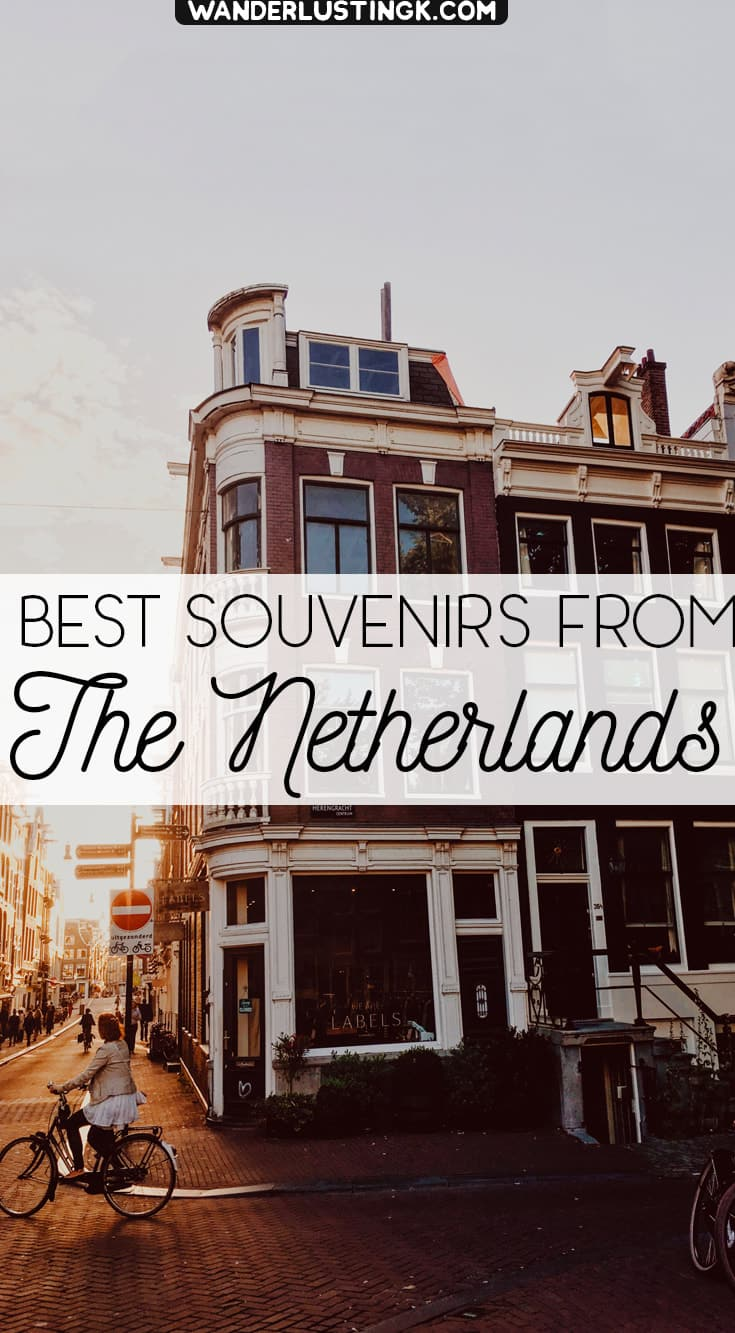 Read about the best souvenirs from the Netherlands. Read about the best gifts to buy in Holland! #Netherlands #Holland #Travel #Gifts #Amsterdam