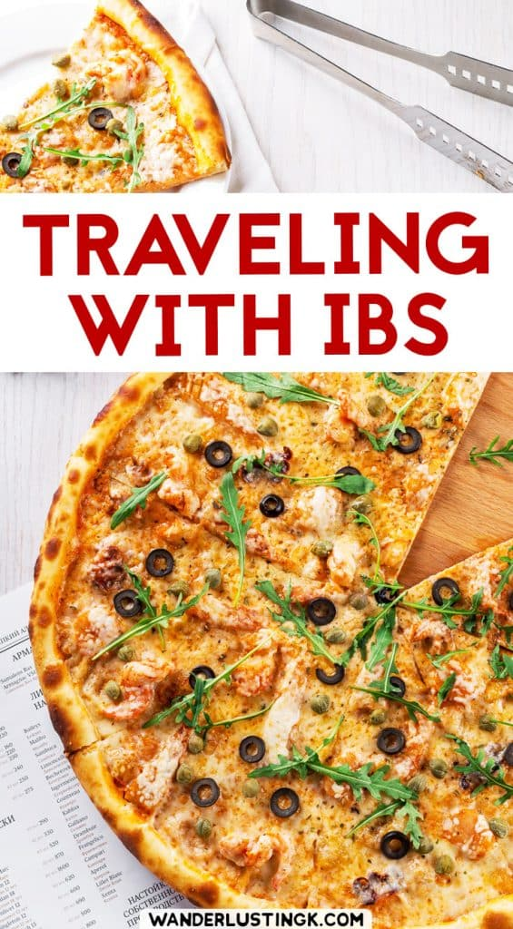 You can travel with irritable bowel syndrome. Tips for traveling with IBS and how to deal with IBS while traveling abroad. #IBS #Health #Travel