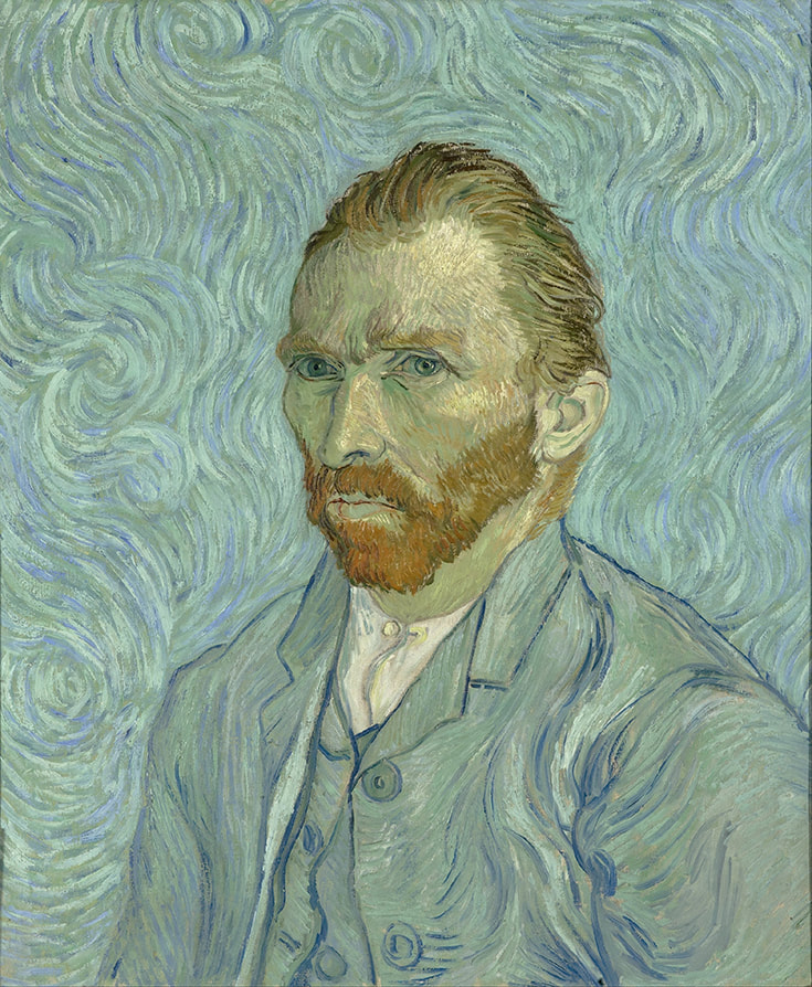 Photo of Vincent Van Gogh. Read about Vincent Van Gogh's life in the Borinage and the influences of Vincent Van Gogh.