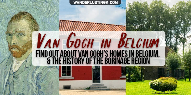Find out about Vincent Van Gogh in Belgium, where Van Gogh lived in the Borinage, and how Van Gogh's life influenced Van Gogh's first painting.