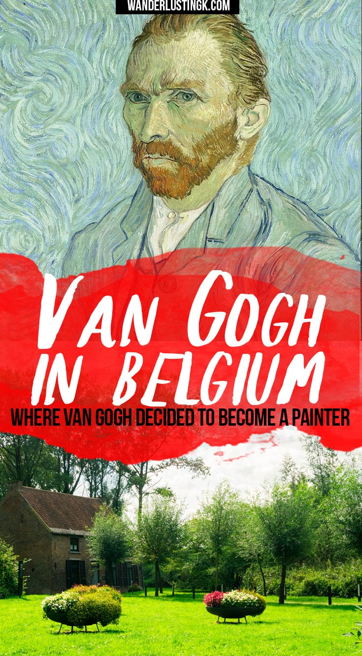 Learn about Van Gogh's life in Belgium, where Van Gogh lived (Maison Van Gogh in Petit-Wasmes & Cuesmes), and where Van Gogh decided to become an artist.