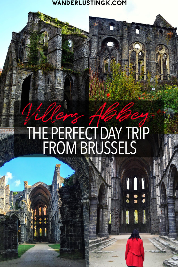 Looking for day trips from Brussels? Visit the abandoned abbey of Villers Abbey, one of the best things to see in Belgium! #Brussels #Belgium #Travel