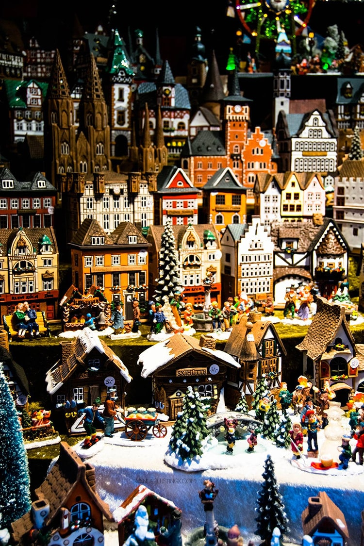 Cute German Christmas decorations in Cologne Germany Christmas Market. Read about the best things to do in Cologne in December. #Cologne #Koln #Christmas
