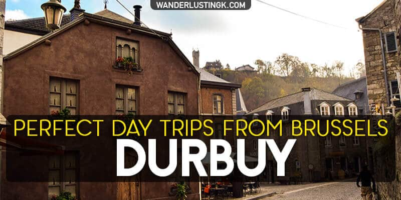 Visit the most beautiful city in Belgium, Durbuy, on a day trip from Brussels. Discover things to do in Durbuy Belgium and why you need to visit Wallonia.
