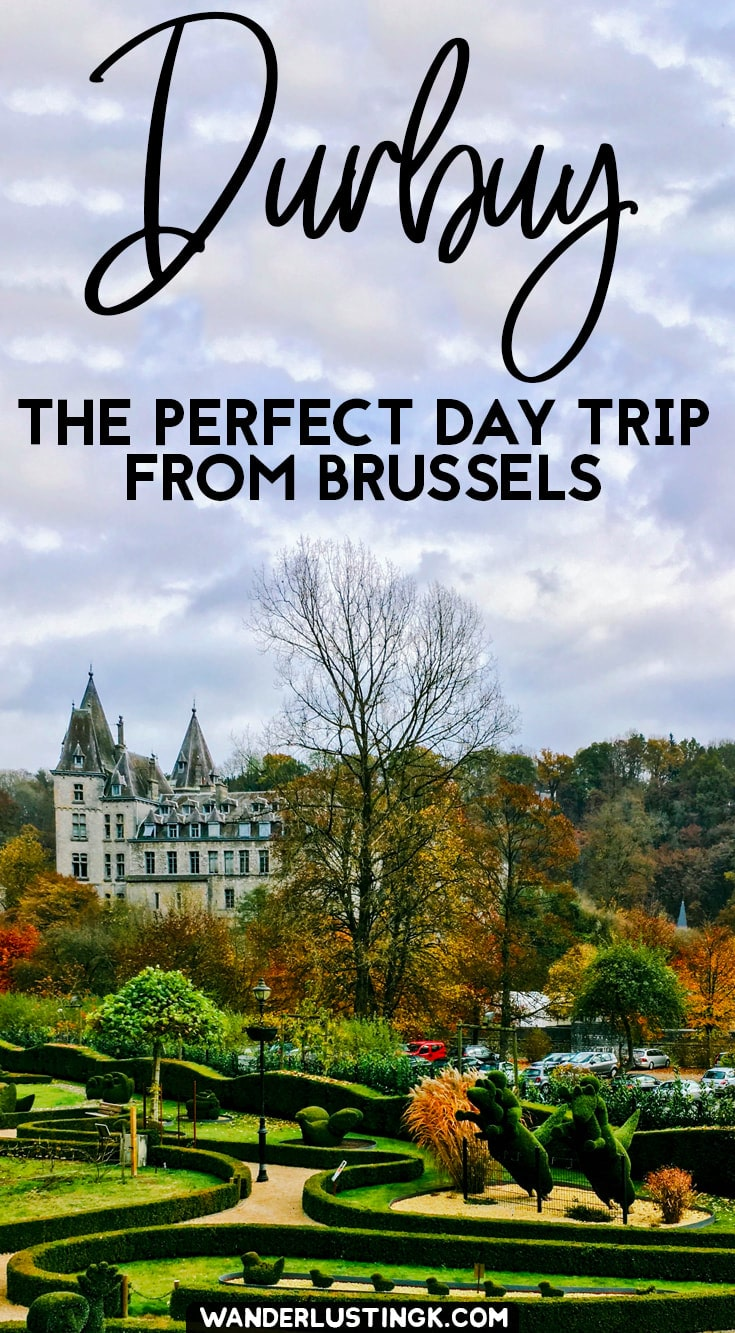 Read things to do in Durbuy on the perfect day trip from Brussels to the fairytale city of Durbuy Belgium in the Ardennes. #Travel #Brussels #Belgium