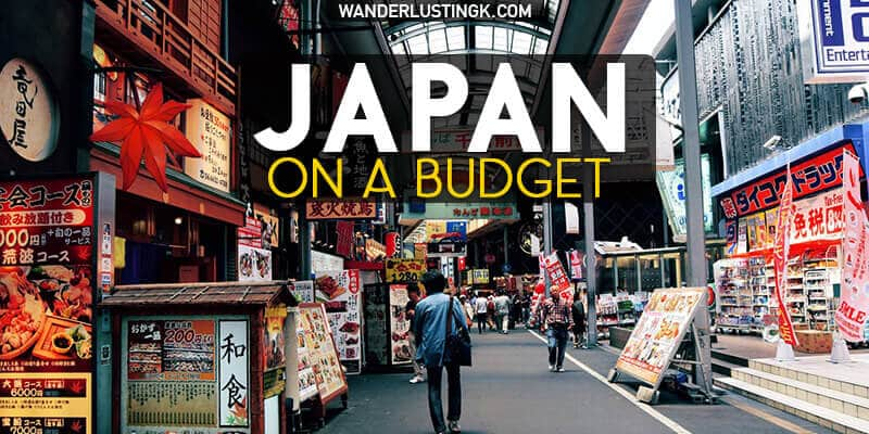 Tips for travel in Japan on a budget