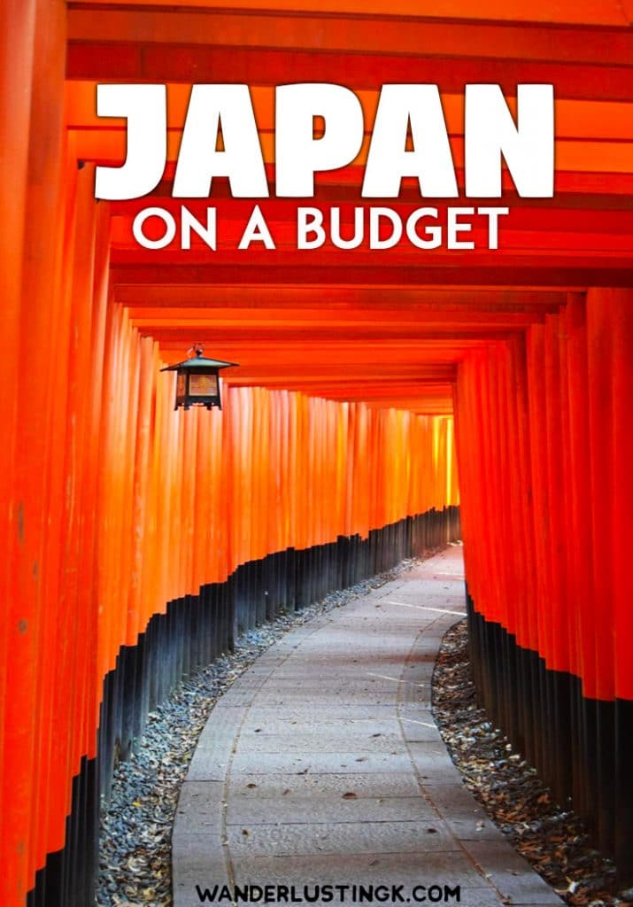 Planning to visit Japan on a budget? Money saving tips for visiting Japan with budget travel tips you need to know before you visit #Japan. #Asia #Travel
