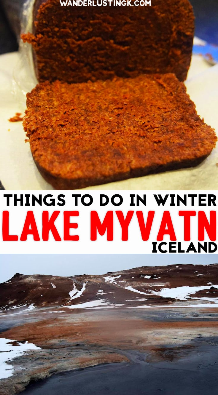 Visiting Iceland? Read about the best things to do in Lake Myvatn in winter & where to eat traditional Icelandic food in Myvatn. #Iceland #Mvyatn #Travel