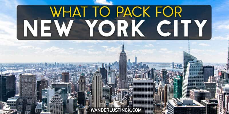 Trying to figure out what to wear in New York City? A New Yorker's guide to what to pack for New York City year-round with a New York City packing list.