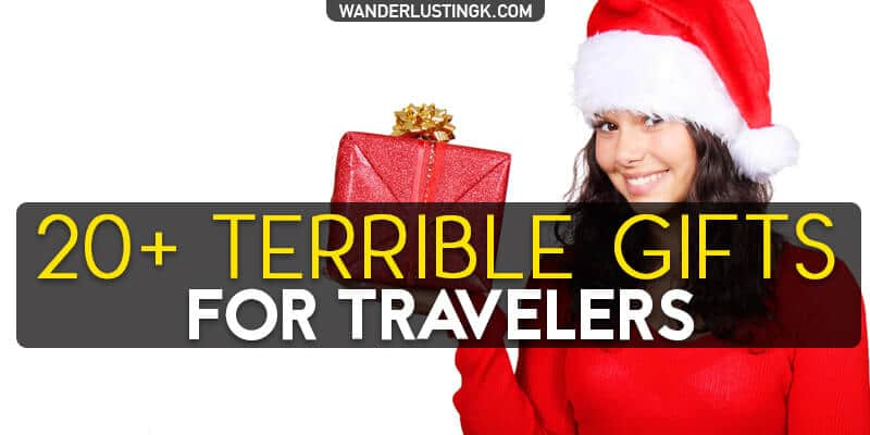 Worst Christmas Gift Ever: Funny Bad Travel Gifts for Friends
