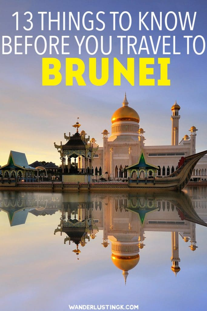 Planning a trip to Brunei Darussalam ? Thirteen must-know tips before you visit Brunei including what to wear in Brunei. #Brunei #Asia #Travel