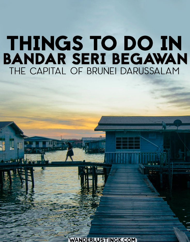 Curious about Brunei Darussalam, Asia's sultanate? Tips for the best things to do in Bandar Seri Begawan and what to eat in Brunei. #Brunei #Asia #Travel