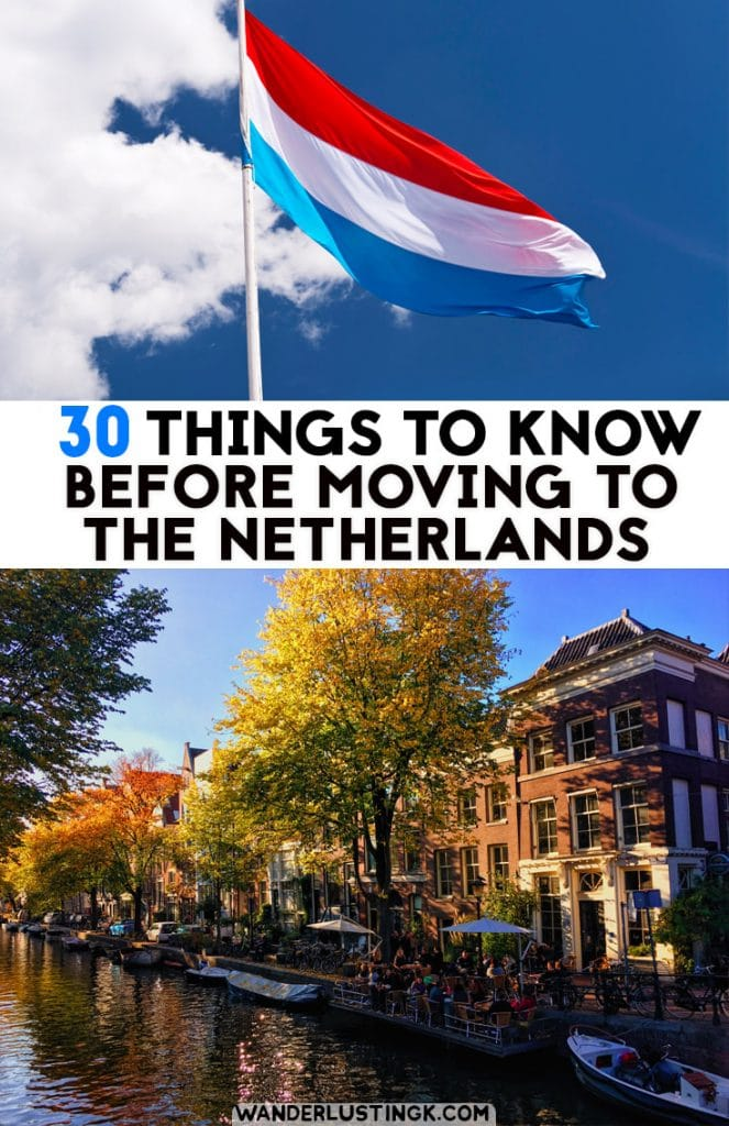 Considering becoming an expat in the Netherlands? 30+ things to know before you move to the Netherlands about life in the Netherlands! #Netherlands #expat
