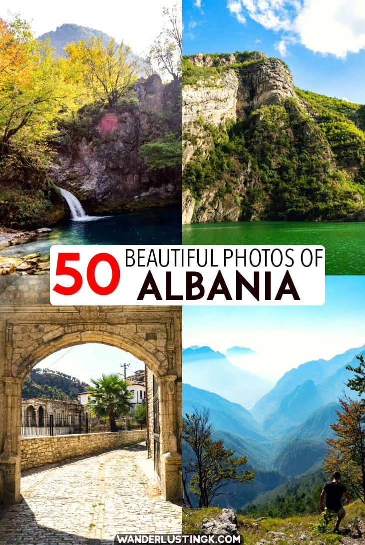 See the most beautiful places in Albania in 50 beautiful photos of Albania and why you need to visit Albania in the Balkans! #Travel #Balkans #Albania