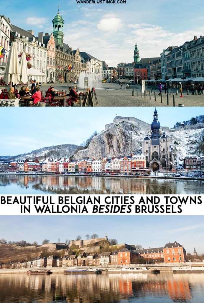Looking for day trips from Brussels? Read about the best 15 places to visit in Belgium in the Wallonia region with the most beautiful cities! #Travel #Belgium #Europe