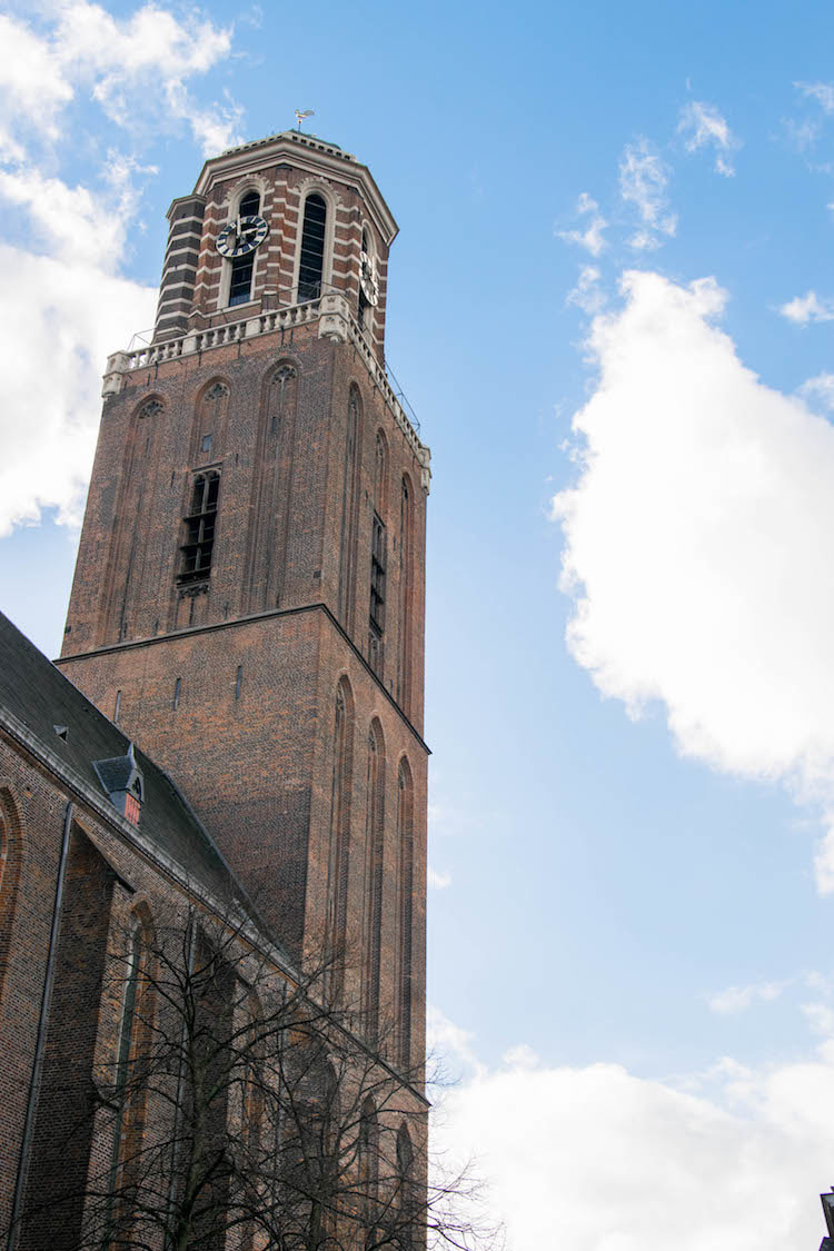 De Kerk (de Peperbus) in Zwolle, a must-see in Zwolle. Read more about visiting Zwolle and the best things to do in Zwolle. #Travel #Netherlands #Zwolle