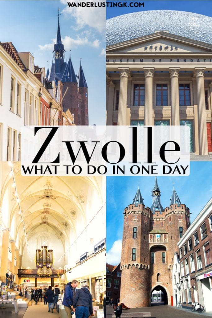 See the best things to do in Zwolle, including a beautiful bookstore, and why you should visit Zwolle from Amsterdam. #Travel #Netherlands #Nederland #Zwolle