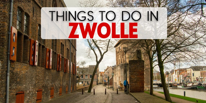 Want a day trip from Amsterdam? Spend one day in Zwolle, the Netherlands. Read things to do in Zwolle & see the most beautiful bookstore in the Netherlands!