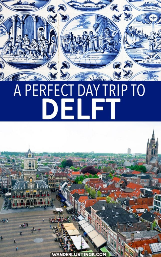 Planning a day trip from Amsterdam? Your guide for a perfect day in Delft with insider tips on things to do in Delft and where to eat in Delft! #travel #Netherlands #Delft