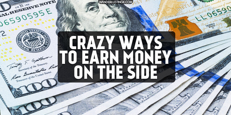 Wondering how to make extra money on the side? 15 creative ways to make money for travel or any other financial goal! Read about real side jobs for extra money.