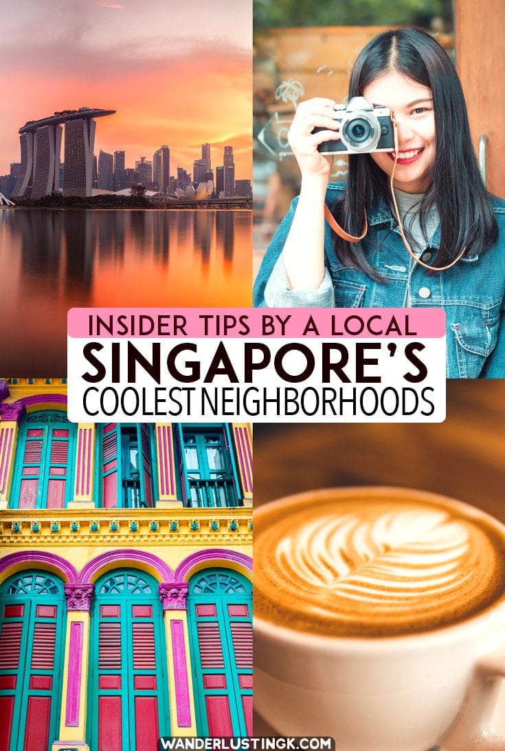 Your guide to Singapore's coolest neighborhoods and getting off the beaten path in Singapore written by a Singaporean resident with unique places in Singapore, including the best places to get a coffee in Singapore. #Singapore #Travel #Asia