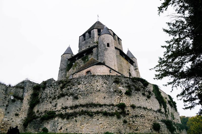 Photo of Tour Cesar, one of the medieval towers of Provins, and a must-see attraction if taking a day trip from Paris to Provins!