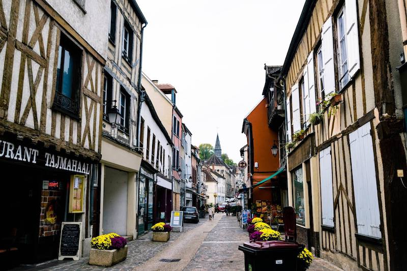 Photo of Provins, a day trip from Paris. Read tips on how to travel around France without a car on a budget. #France #travel