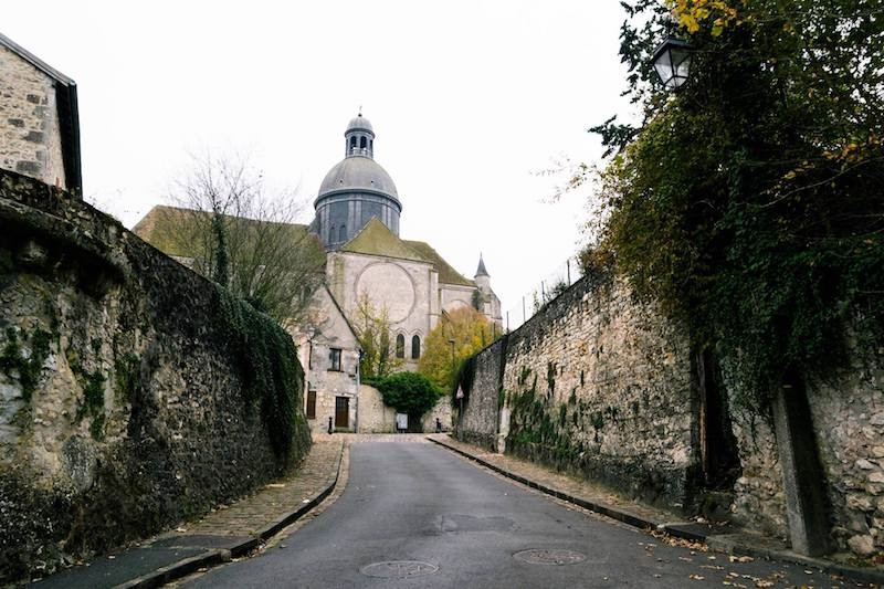 Photo of the medieval town of Provins, a beautiful UNESCO world heritage site, only a day trip from Paris! #France #Travel #Paris