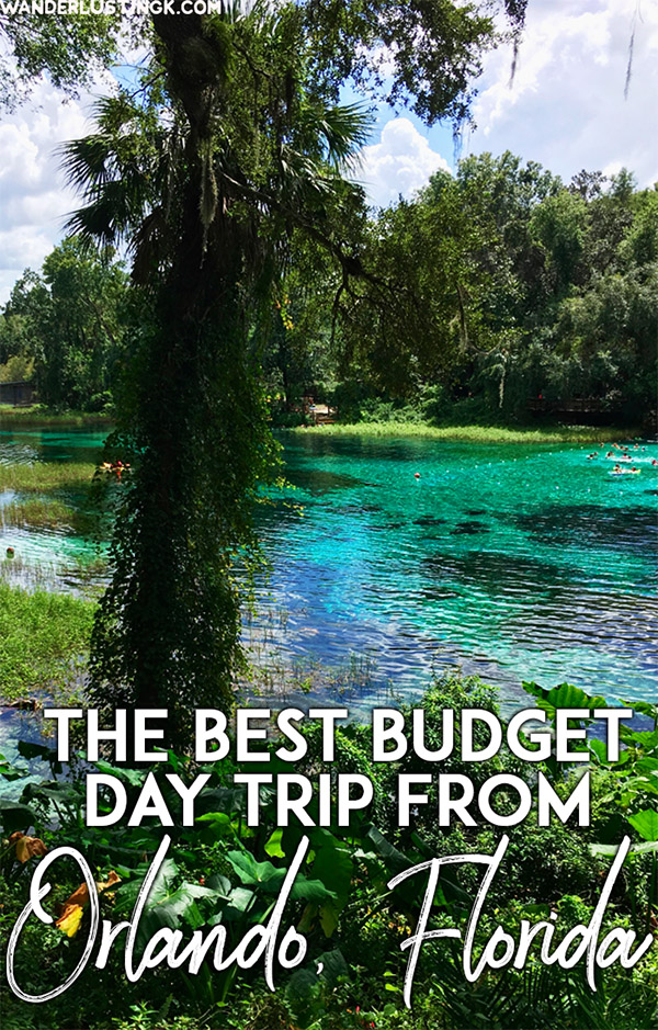 Visiting Orlando, Florida, USA? Take a family friendly day trip from Orlando to Rainbow Springs State Park. Perfect for those looking for a budget day trip from Orlando! #florida #orlando #travel #UnitedStates #USA #budgettravel