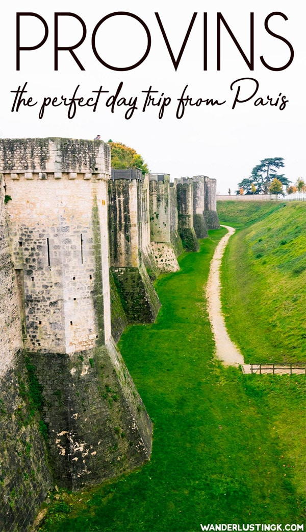Looking to get off the beaten path in France? Visit Provins, a beautiful day trip from Paris, to visit a UNESCO recognized medieval town. Read the best things to do in Provins. #travel #france #paris #UNESCO