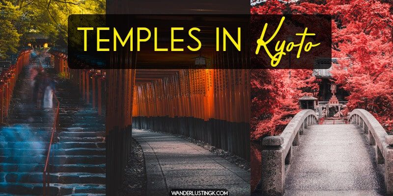 Visiting Kyoto? See the best things to do in Kyoto by visiting the five most beautiful temples in Kyoto.