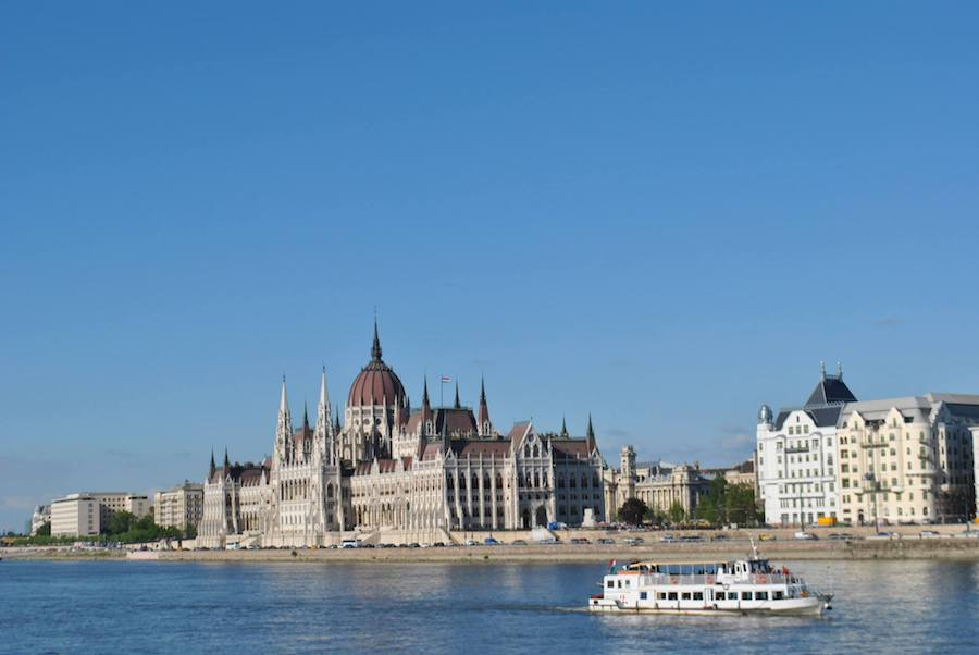 Photo of Budapest in Hungary. Read about why passport privilege matters for travel to Hungary!