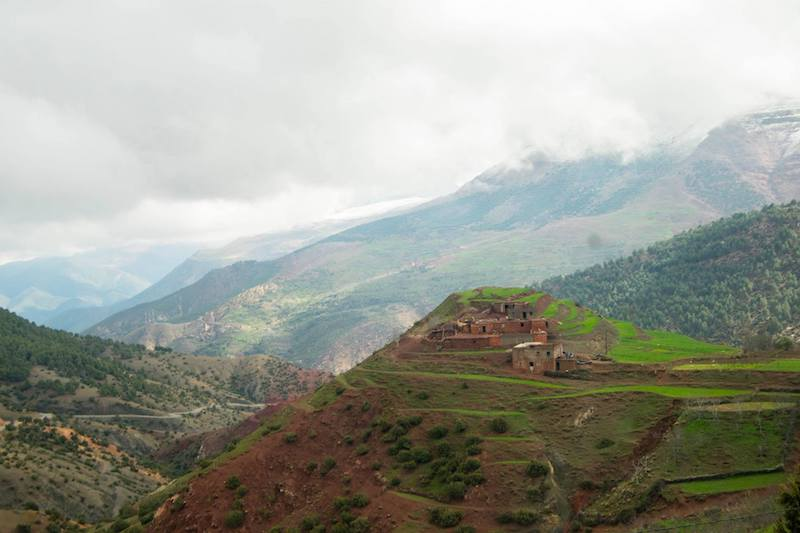 Village in Morocco. Planning a vacation with your parents? Tips for taking a vacation with your parents as an adult.