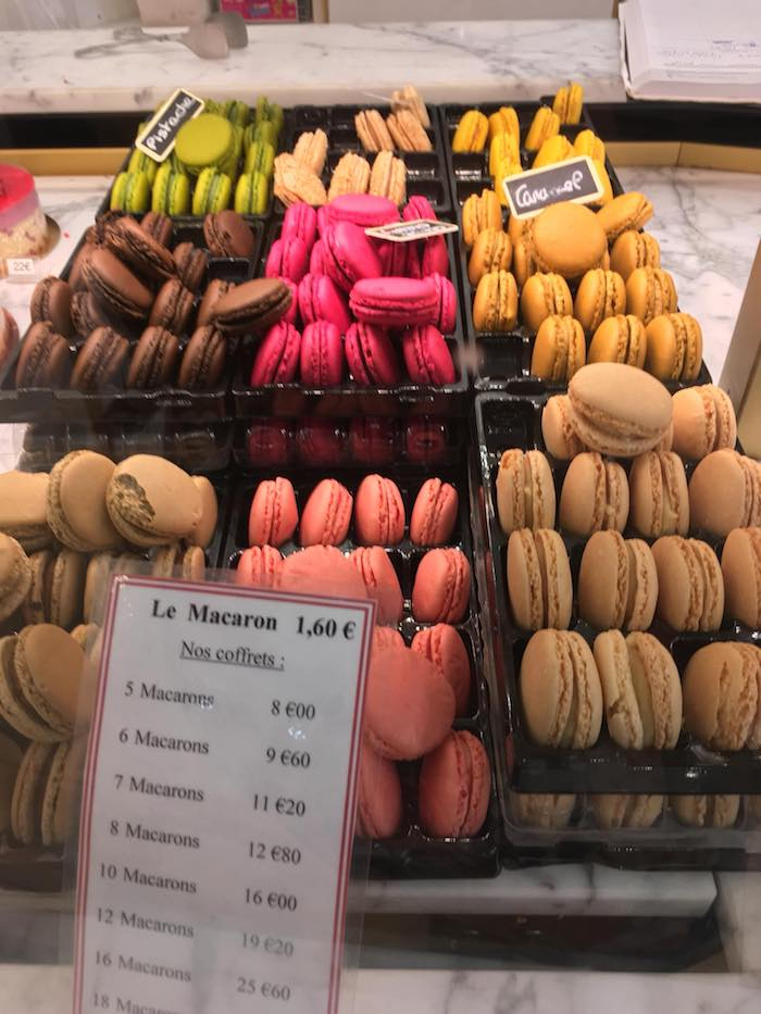 Macarons in Paris. Read about where to eat near the Paris Catacombs with tips on where to eat in the 14th arrondissement. #travel #food #paris #france #arrondisement