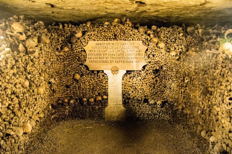 Paris Catacombs in the 14th Arrondissement. Read tips for the best things to do near the Paris Catacombs in Montparnasse! #travel #paris #france