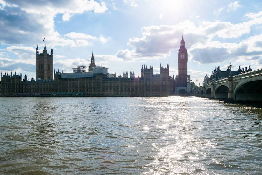 Photo of London skyline, one of the places that people with weak passports may need to apply for a visa for.