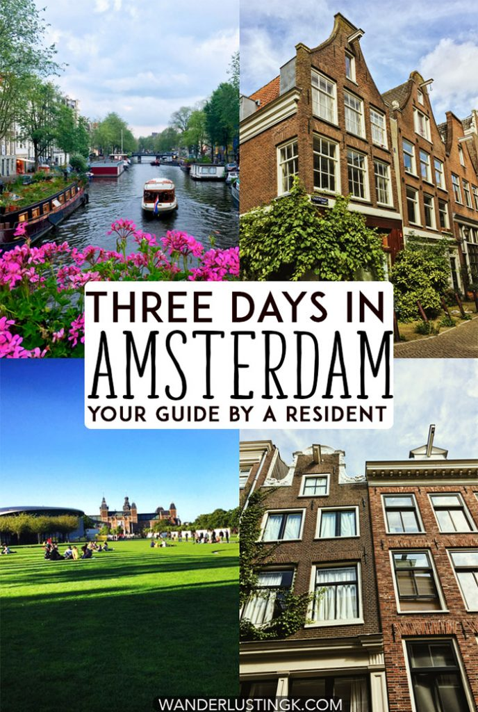 Figuring out the best things to do in Amsterdam? Your insider guide to Amsterdam with a complete itinerary for Amsterdam with a map written by a resident. Includes what to do for three days in Amsterdam! #amsterdam #netherlands #europe #travel