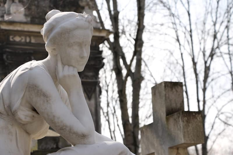 Montparnasse Cemetery in Paris. Read about visiting Montparnasse with a neighborhood guide to the 14th arrondissement. #travel #paris #france