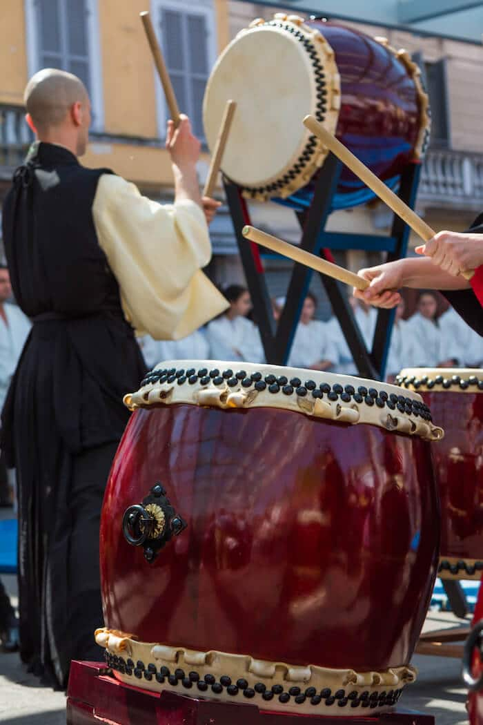 Japanese Taiko performance. If you're considering visiting Tokyo, be sure to add a Taiko performance to your list of things to do in Tokyo! #tokyo #asia #travel #japan