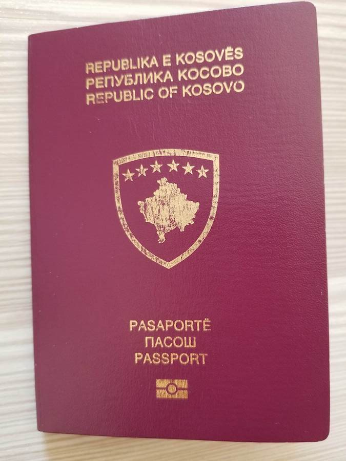 Kosovo passport. Read what it's like to travel with a weak passport and about passport privilege. #travel #kosovo #passports