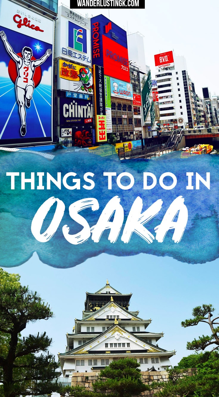 Visiting Osaka Japan? The best things to do in Osaka Japan in this compact Osaka travel guide, perfect for a two day trip to Osaka! #travel #asia #japan #osaka