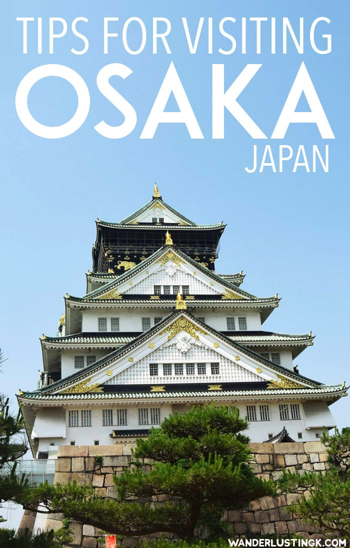 Visiting Osaka Japan? Read this Osaka travel guide for travel tips for Osaka Japan, including the best things to do in Osaka, food to try to Osaka, and getting around Osaka. #travel #asia #osaka #japan