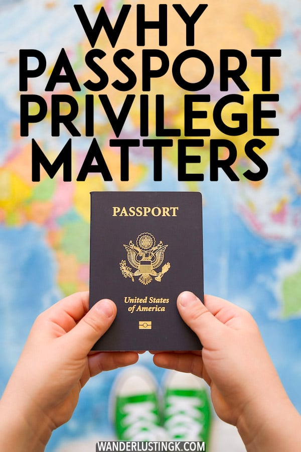 Interested in reading what it's like to travel with a weak passport? Read why passport privilege matters and why you shouldn't count countries when traveling. #travel #passports #privilege