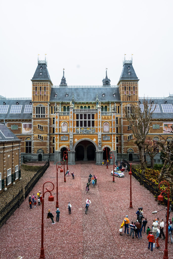 The Rijksmuseum at the Madurodam in the Hague. This miniature park is one of the best things to do in the Hague! #netherlands #netherlands #holland #thehague