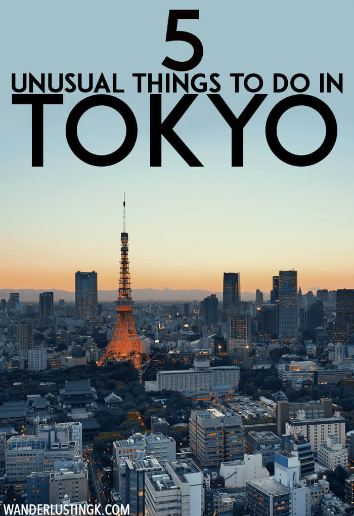 Planning your trip to Tokyo Japan? Five unusual things to do in Tokyo that you'll want to add to your agenda to soak in Japanese culture! #travel #tokyo #Japan #asia