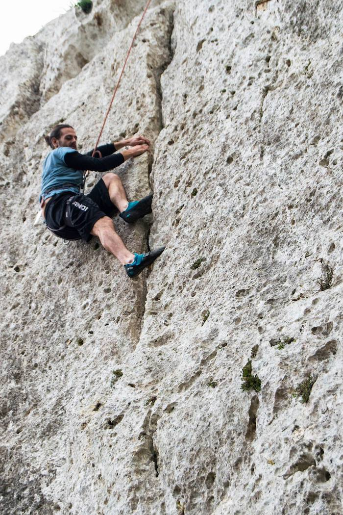 Rock climbing on Gozo, what to do on Malta and Gozo. This adventure activity on Gozo is something to include in your Malta and Gozo itinerary. #malta #gozo #travel #rockclimbing #europe #adventuretravel