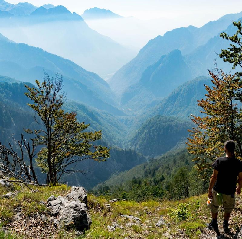 Hiking in Theth National Park in Albania. This beautiful hike is one of the best things to do in Albania and the Balkans! #travel #Balkans #Albania #europe