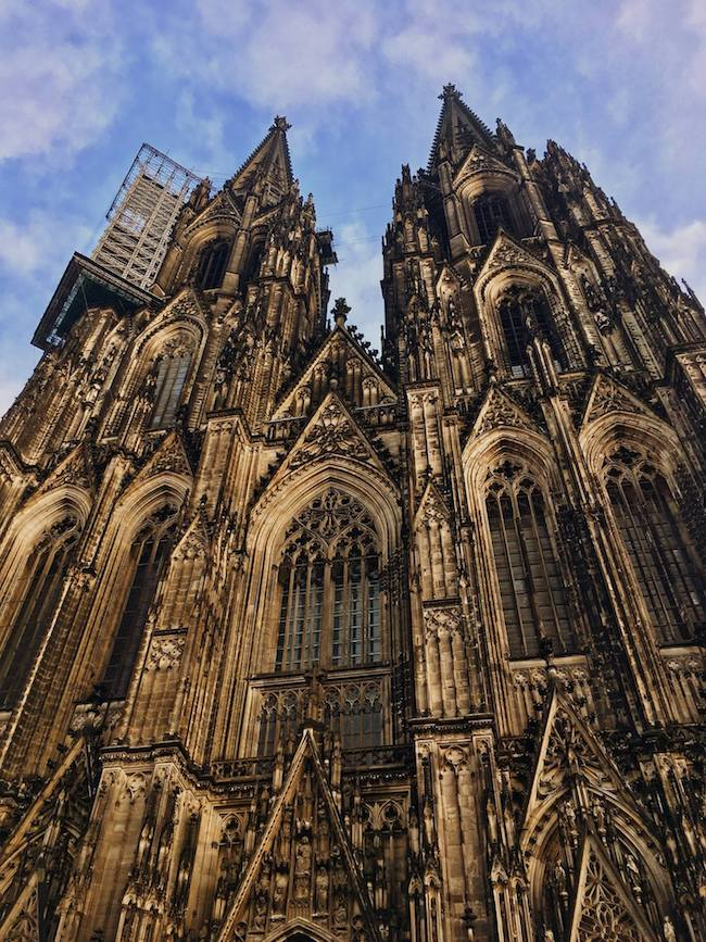 Cologne Dom, one of the churches in Cologne Germany. Read why you should include Cologne on your Eurotrip itinerary! #travel #Europe #Cologne #Germany