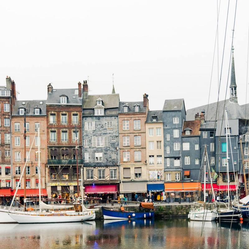 Honfleur, one of the most beautiful cities in Normandy that you must visit in Normandy! #travel #Normandy #Honfleur