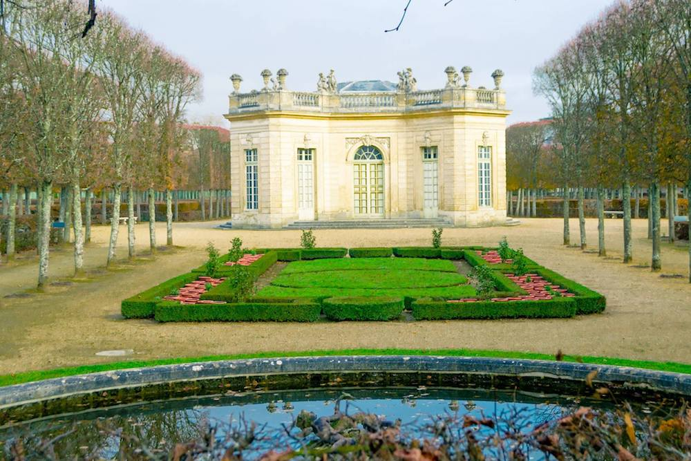Petit Trianon at Versailles, one of the things that you cannot skip during your visit to Versailles. Read tips on getting Versailles tickets and avoiding the crowds at Versailles! #travel #versailles #france